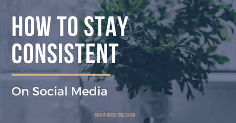 How to Stay Consistent on Social Media