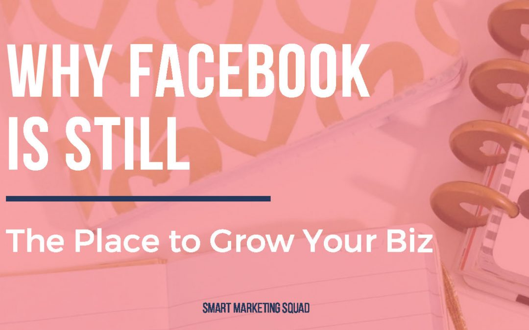 Why Facebook is STILL the Place to Grow Your Local Business