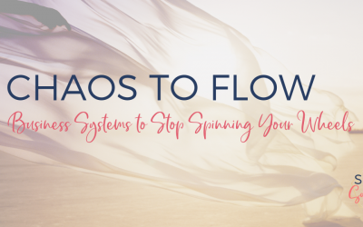 From Chaos to Flow: Business Systems to Stop Spinning Your Wheels