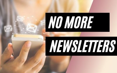 No More Newsletters – Talk With Your Audience in Email